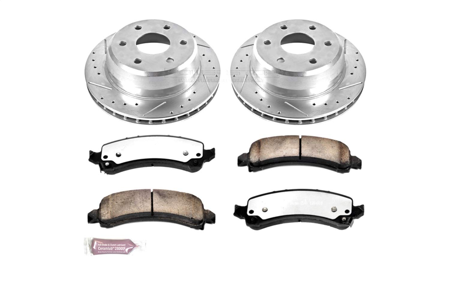 Power Stop K2047-36 Rear Z36 Truck and Tow Brake Kit