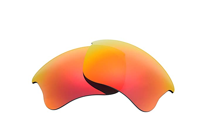 5071d6b031 Image Unavailable. Image not available for. Color  Polarized Replacement  Lenses for Oakley Flak Jacket XLJ Sunglasses (Fire Red) NicelyFit