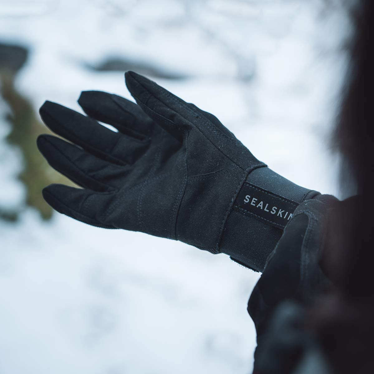 SEALSKINZ Unisex Waterproof All Weather Glove Black XXL