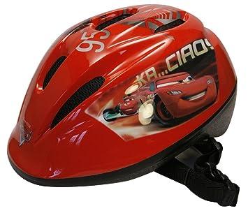 Disney Cars Rayo McQueen Casco de bicicleta infantil- 46-53 cm