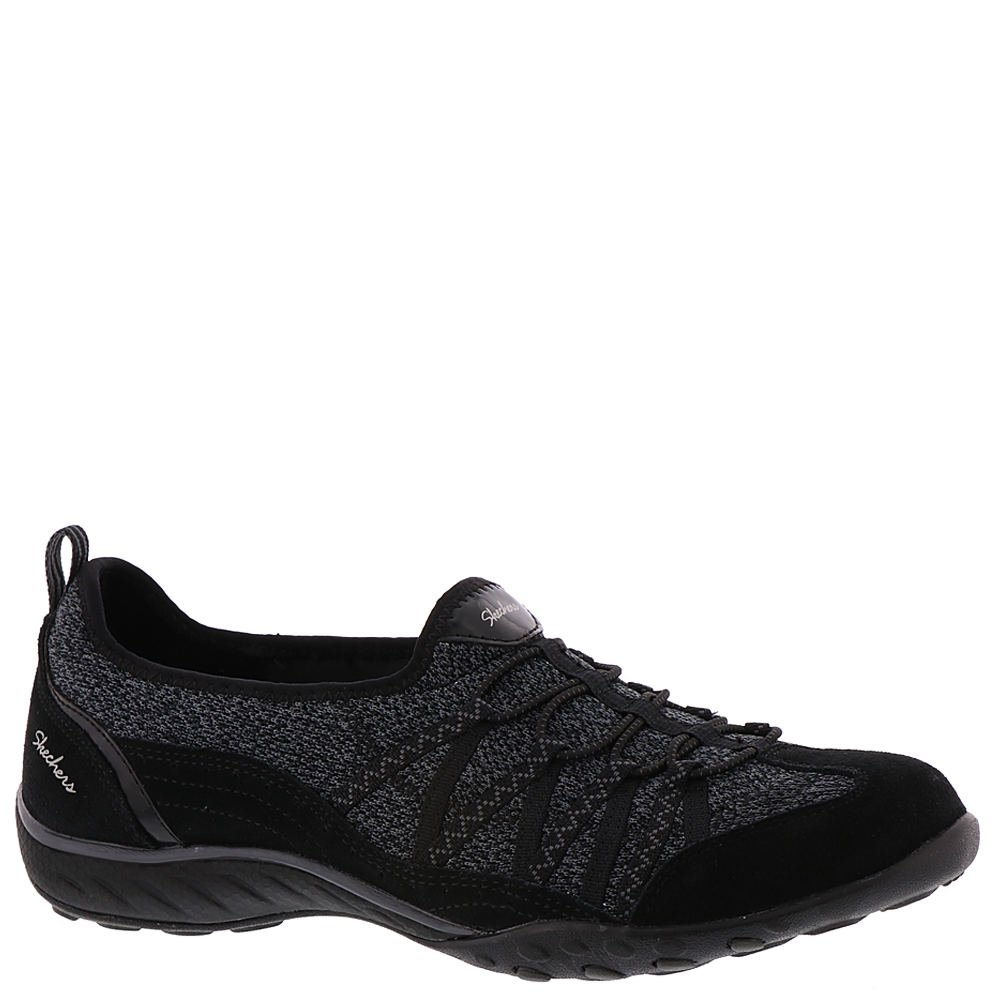 Skechers Sport Women's Breathe-Easy Sweet Sound Fashion Sneaker B0785X87Q2 6.5 B(M) US|Black