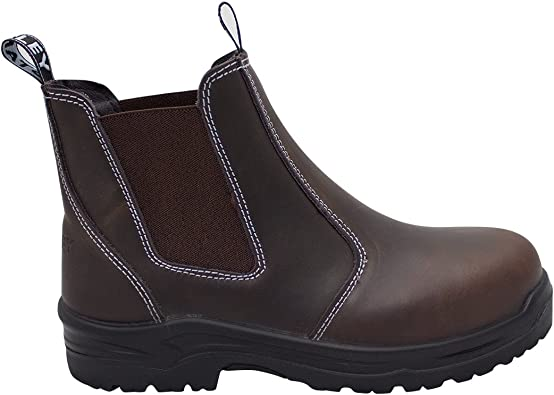 Dredge Steel Toe Work Boot Chelsea