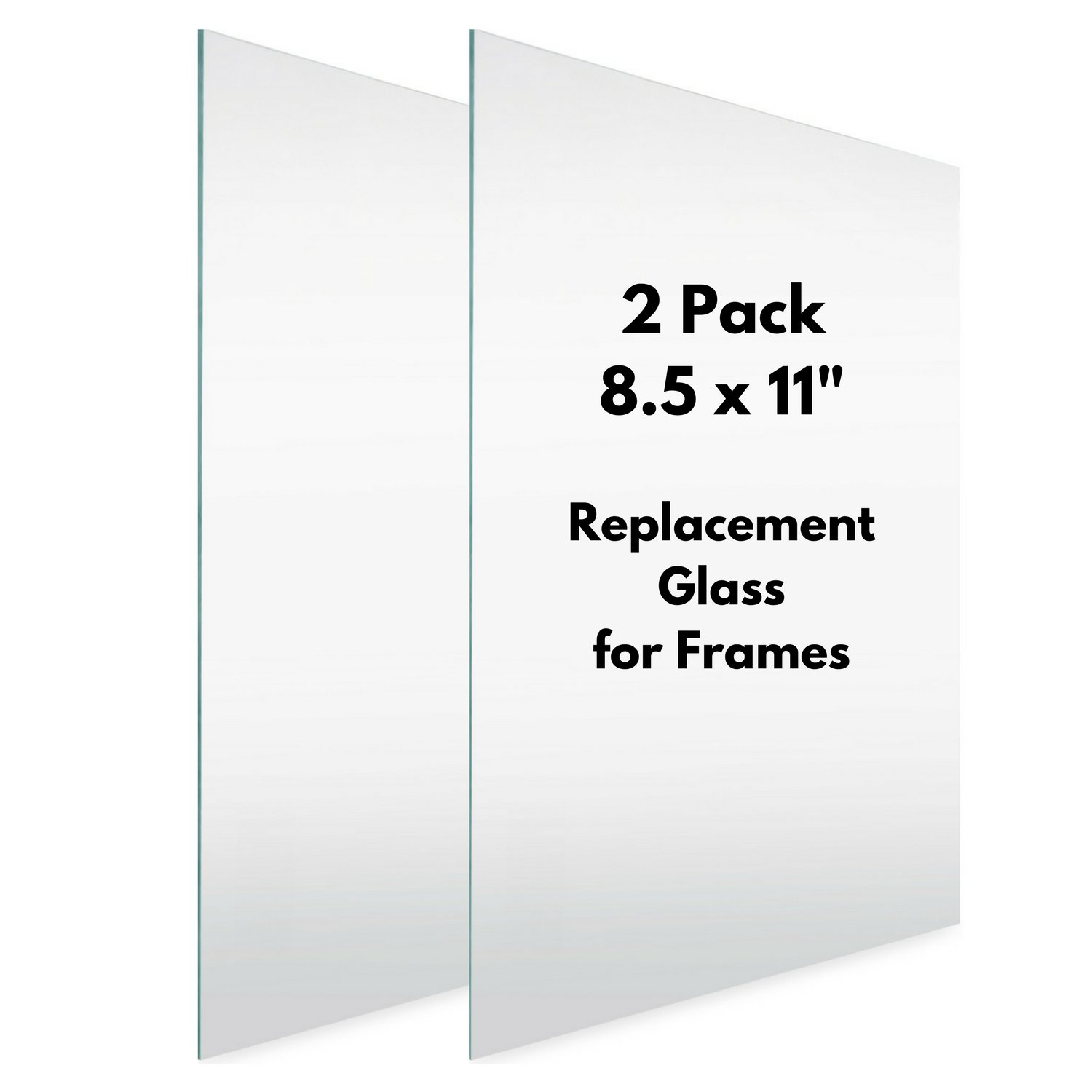 Icona Bay Oval 4x6 Glass Replacement For Frames 2 Pack Picture