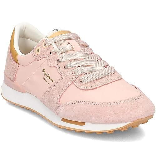 Pepe Jeans Bimba Soft, Zapatillas para Mujer: Amazon.es: Zapatos y complementos