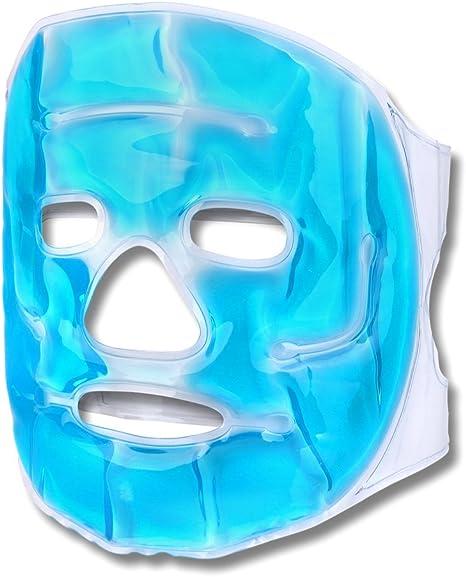 Schramm® Máscara refrigerante Máscara Facial Azul Máscara refrigerante de Ojos Máscara de Gel Máscara: Amazon.es: Hogar