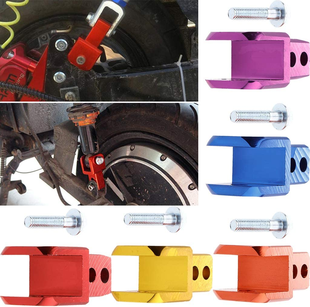 Purple Shock Absorber Height Extension Extender Shock Absorber Height Extender Jack Up Riser for Motorcycle