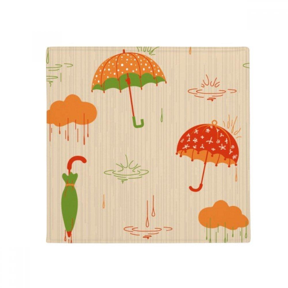 DIYthinker Cloud Umbrella Rain Drip Weather Anti-Slip Floor Pet Mat Square Home Kitchen Door 80Cm Gift