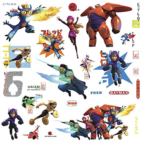 Big Hero 6 Wall Decals