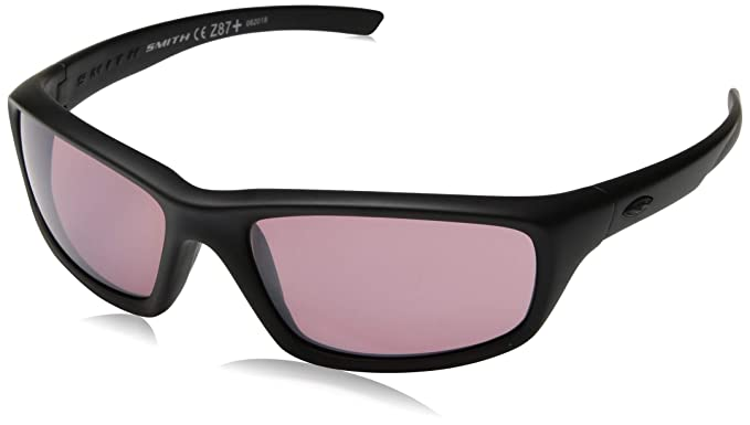 41390d436f Amazon.com  Smith Optics Director Tactical Sunglass with Black Frame (Clear  Lens)  Sports   Outdoors