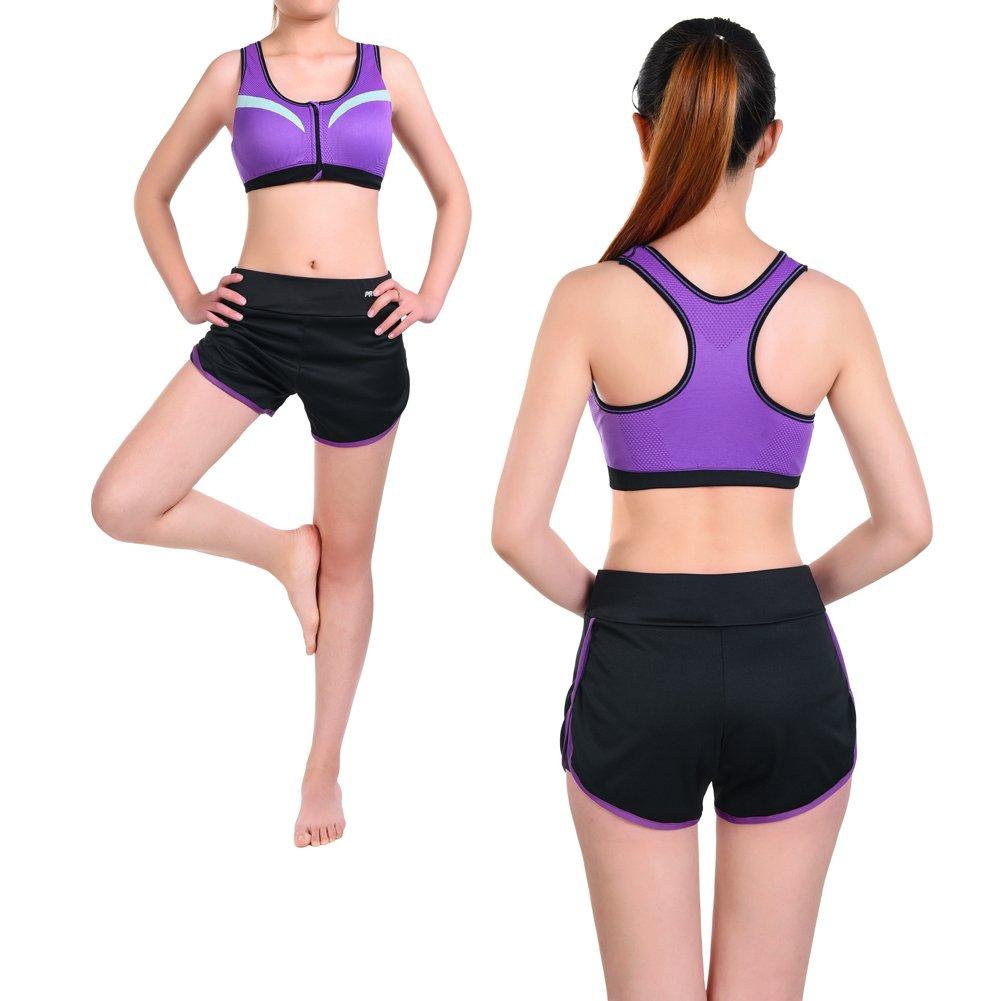 Jogginghose Kurz Vbiger Sports Sport Bh Bra Yoga Kurze Damen xWqAR6ZW7