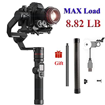 FeiyuTech AK4000 3-Axis Gimbal Stabilizer Payload 4 KG for Mirrorless   DSLR  Camera Sony 8c8e56edaf11