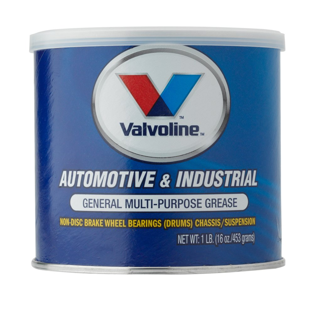 Valvoline Multi-Purpose Automotive/Industrial Grease 12 Pack Grease-1lb (Case of 12) (VV608-12PK), 12 Pack by Valvoline