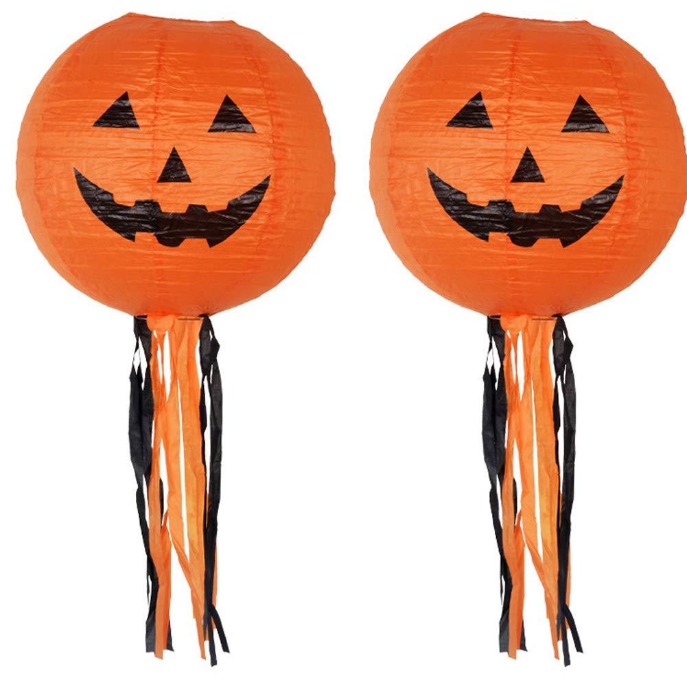 Decoraciones de Halloween Los Fantasmas de la muñeca de los Colgantes, Elementos Decorativos de Calabazas, Fantasmas y arañas para el hogar, Bares, KTV, Supermercado Decoración (1pcs Barba) Hilai