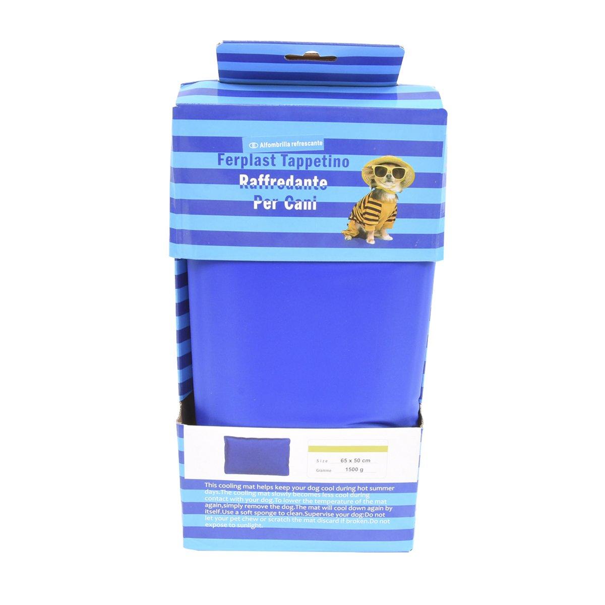 Cisne 2013, SL ¡5 TAMAÑOS! Cama de Perro y Gato Fria para Verano, refrescante 50 x 60 cm Esterilla refrigerante.