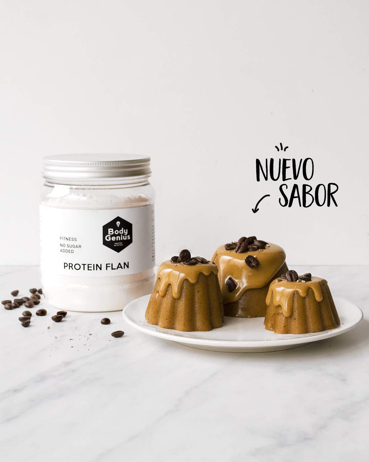 Preparado para flan protéico sabor Coco. Con Stevia y sin azúcares o polialcoholes añadidos. 275gr.: Amazon.es: Alimentación y bebidas