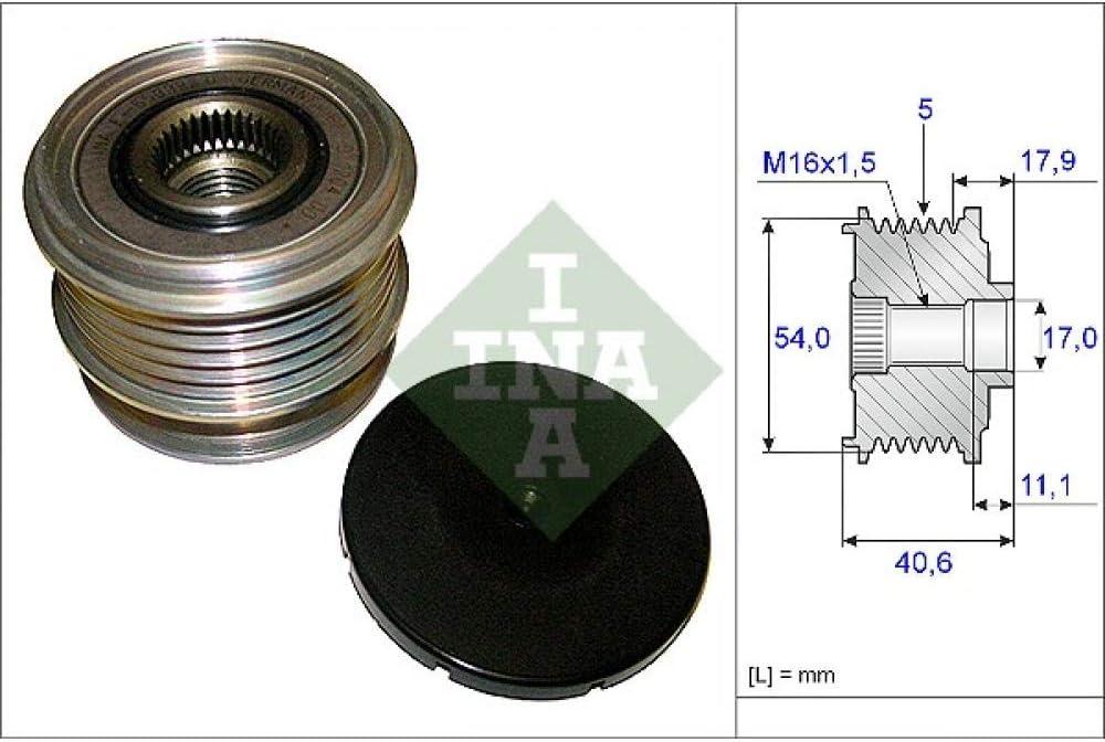 INA 535 0121 10 Dispositivo Ruota Libera Alternatore