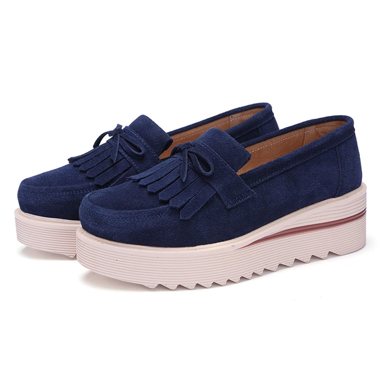 Mocasines Loafers Zapatos Mujer De O Verano Cuñ Otoñ Plataforma A Primavera  Tqgold Casual 6wz5TqII a0036c8e3d6