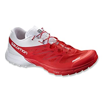 Salomon S Lab Sense 5 Ultra Racing redWhite