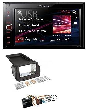 Pioneer AV180 AUX MP3 USB 2DIN Radio de coche para Citroen Nemo PEUGOT Bipper: Amazon.es: Electrónica