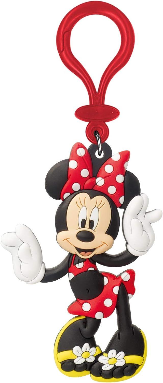 Disney 85164 Multi-Colored One Size Minnie Mouse Flip Flops Rubber Bag Clip