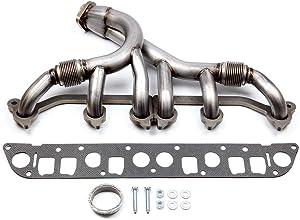 cciyu Stainless Steel Exhaust Manifold Kit Fits 1991-1999 Jeep Cherokee 1991-1992 Jeep Comanche 1993-1998 Jeep Grand Cherokee 1997-1999 Jeep TJ 1991-1995 1997-1999 Jeep Wrangler