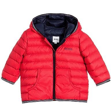 f3e1ff5cdd5af Amazon.com  Hugo Boss Little Boys  Lightly Padded Down Jacket  Clothing