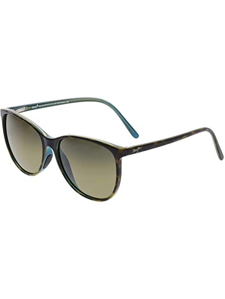 337163fd82f6 Maui Jim Sunglasses Ocean HS723-10P Tortoise w Peacock HCL Bronze Polarized