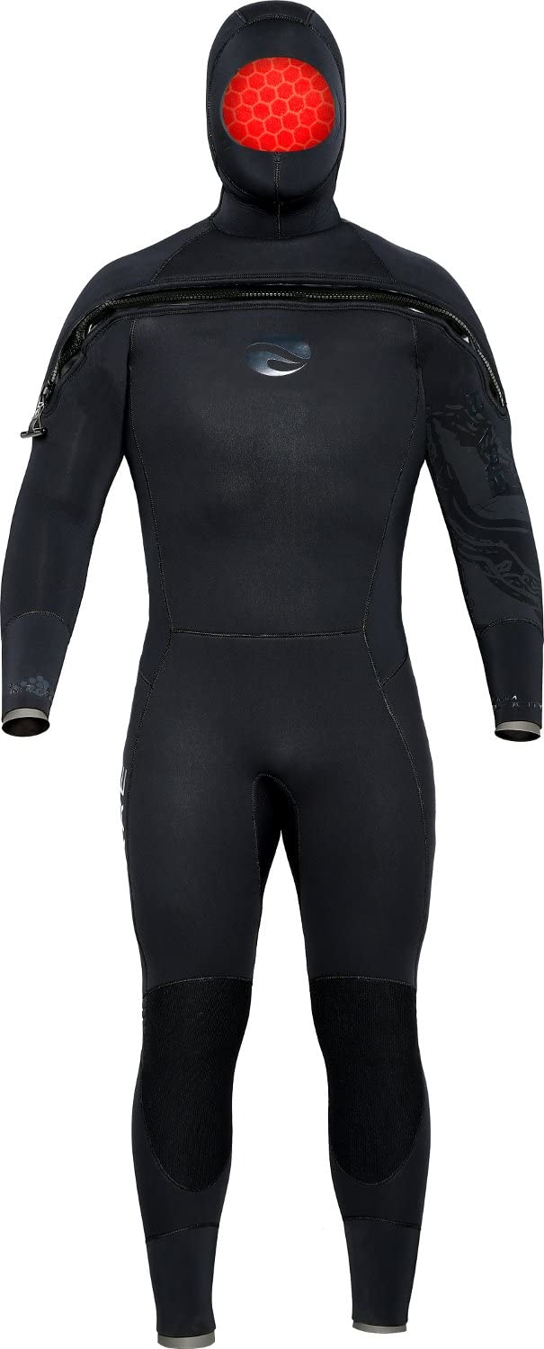 Bare 8/7MM Velocity Ultra Hooded Semi-Dry Suit