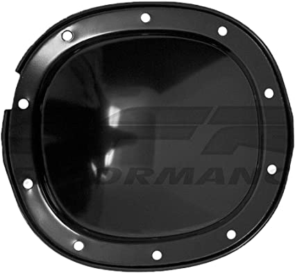 For 64-95 Chevy GM Black Steel Rear Differential Cover 10 Bolt W// 8.2 Ring Gear