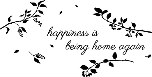 com newclew happiness is being home again removable vinyl
