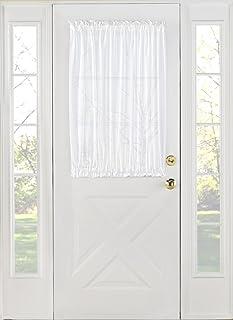 Stylemaster Home Products Stylemaster Splendor Batiste Door Panel 56 by 40-Inch White  sc 1 st  Amazon.com & Amazon.com: Stylemaster Home Products Elegance Voile Door Panel ... pezcame.com