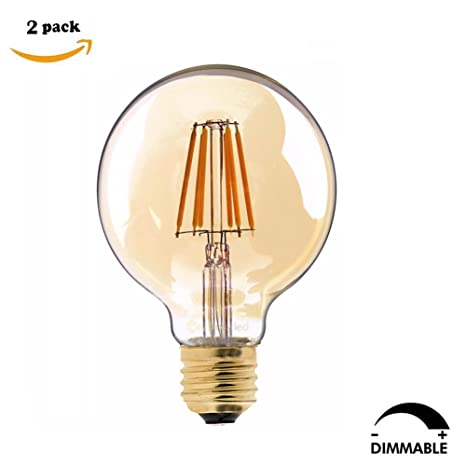 Century Light – Bombillas led graduables 80, E27, 6 W, equivalencia incandescente 60