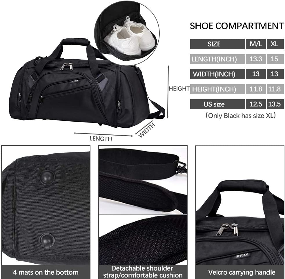 Black LIOOBO Portable Shoe Bags Zippered Travel Shoe Storage Pouch Waterproof Dust Cover Shoes Bag for Travelling Indoor Outdoor Home 3pcs
