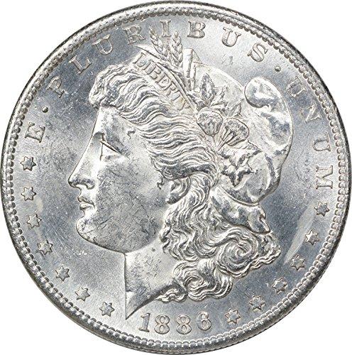 1886 S Morgan Dollar MS60