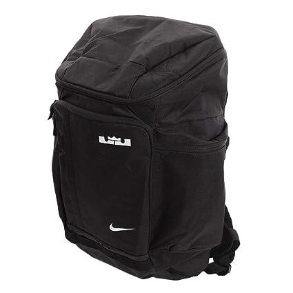 97c62cf819af7 Amazon.com | Nike LeBron Backpack Black/White Size One Size | Backpacks