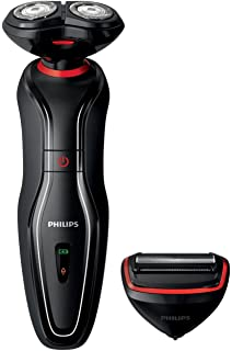 Philips S-5340/06 - Maquina de afeitar electrica, color rojo y ...