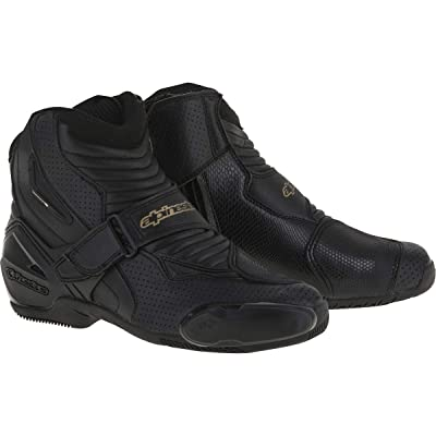 Alpinestars Women's 2224116-185-36 Boots Black/Gold Size 36: Automotive