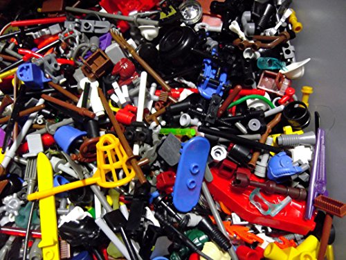 Improved! (X20) Lego Minifigure Accessories - Hats, Weapons, Tools, Flippers Etc