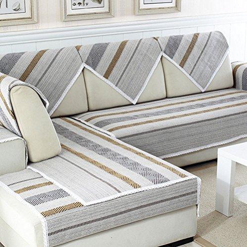 BIN Cubiertas De La Toalla del Sofá, Amortiguador del Sofá Cuatro Estaciones Universal,90 * 150Cm