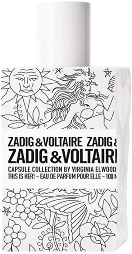 Zadig & Voltaire This is Her Agua de colonia Capsule Collection para Mujer, 100 ml