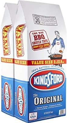 Kingsford Original Charcoal Briquettes, Two 12 Pound Bags