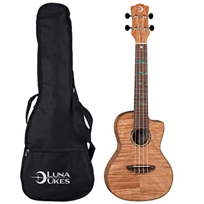 Luna Guitars, 4-String Ukulele (UKE HTC EXM): Musical Instruments