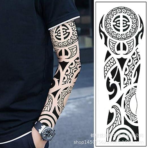 tzxdbh 3Pcs-Brazo Lleno Etiqueta engomada del Tatuaje Hombres y ...