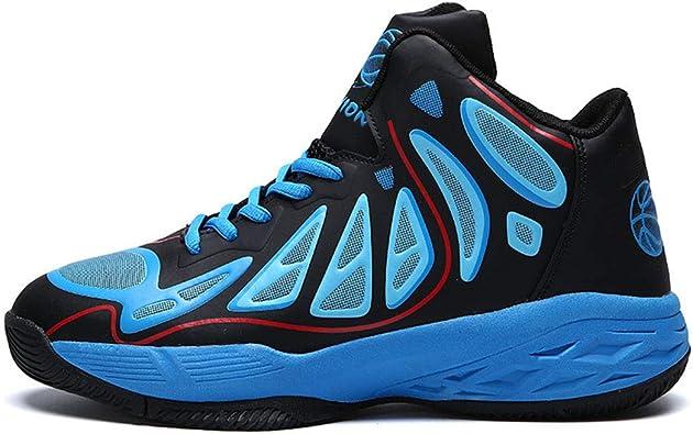Running Shoes Four Seasons Basketball Shoes, Outdoor Sports Shoes, Zapatos para Correr para Hombres (24.0-27.0cm). Sneakers for Men (Color : Azul, tamaño : 42 2/3 EU): Amazon.es: Zapatos y complementos
