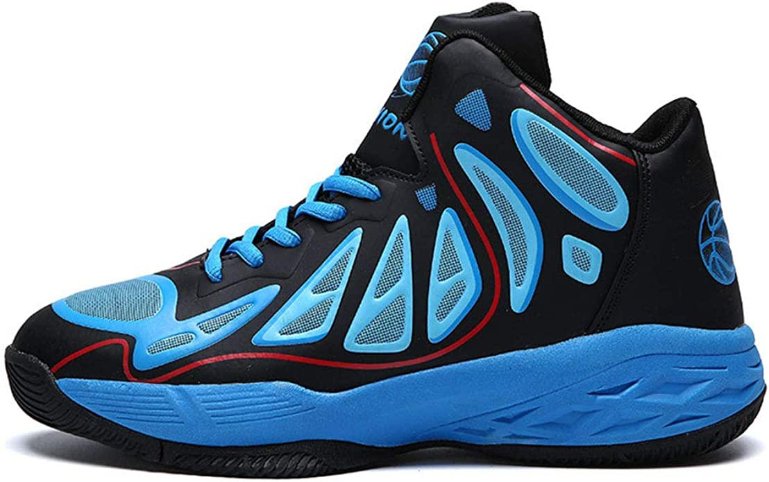 Running Shoes Four Seasons Basketball Shoes, Outdoor Sports Shoes, Zapatos para Correr para Hombres (24.0-27.0cm). Sneakers for Men (Color : Azul, tamaño : 42 2/3 EU): Amazon.es: Zapatos y complementos