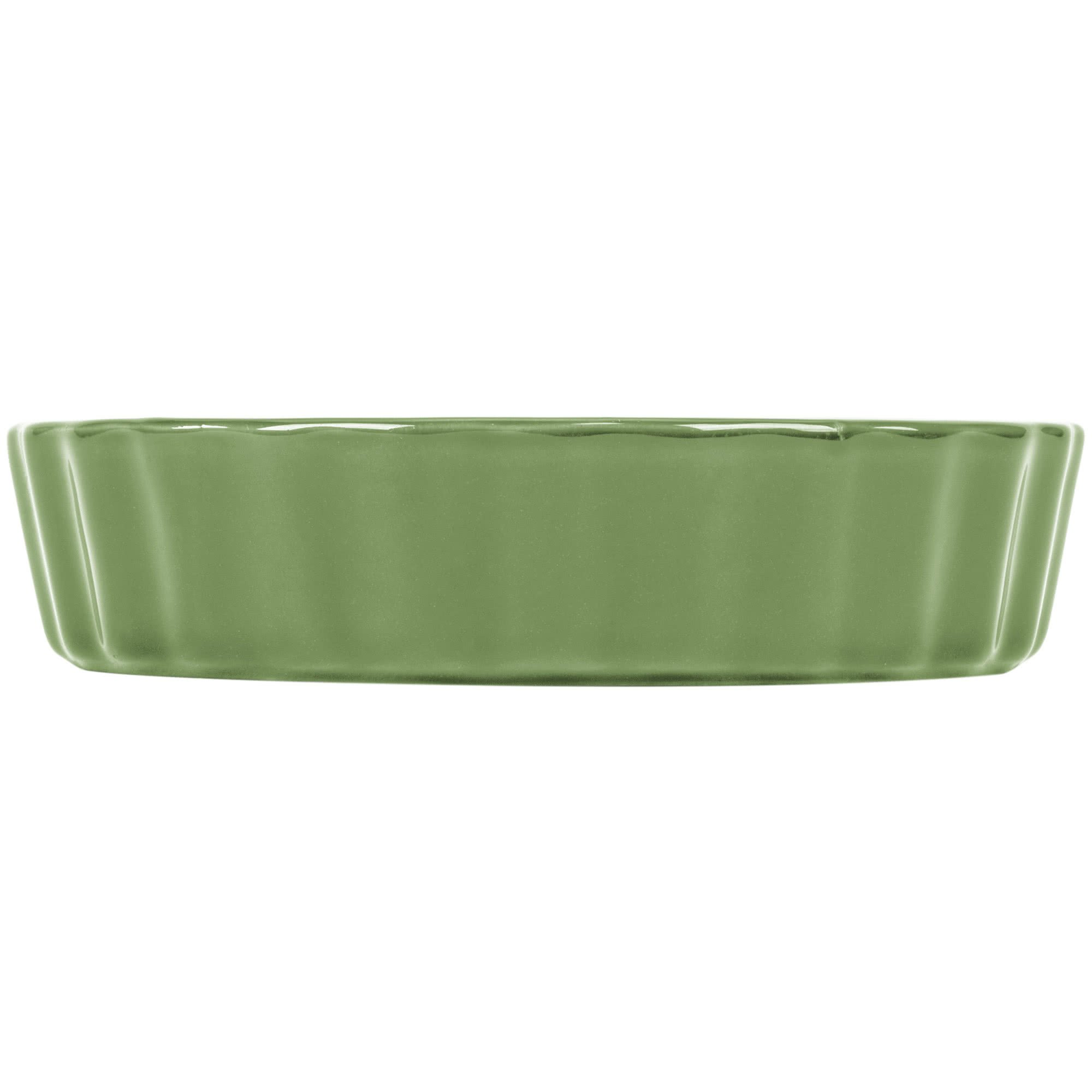 TableTop King QCD-5GRE Festiware Fluted Quiche Dish 5.5 oz. - Green - 24/Case by TableTop King (Image #3)