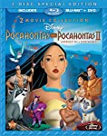 Cover Image for 'Pocahontas Two-Movie Special Edition (Pocahontas / Pocahontas II: Journey To A New World) (Three-Disc Blu-ray/DVD Combo in Blu-ray Packaging)'