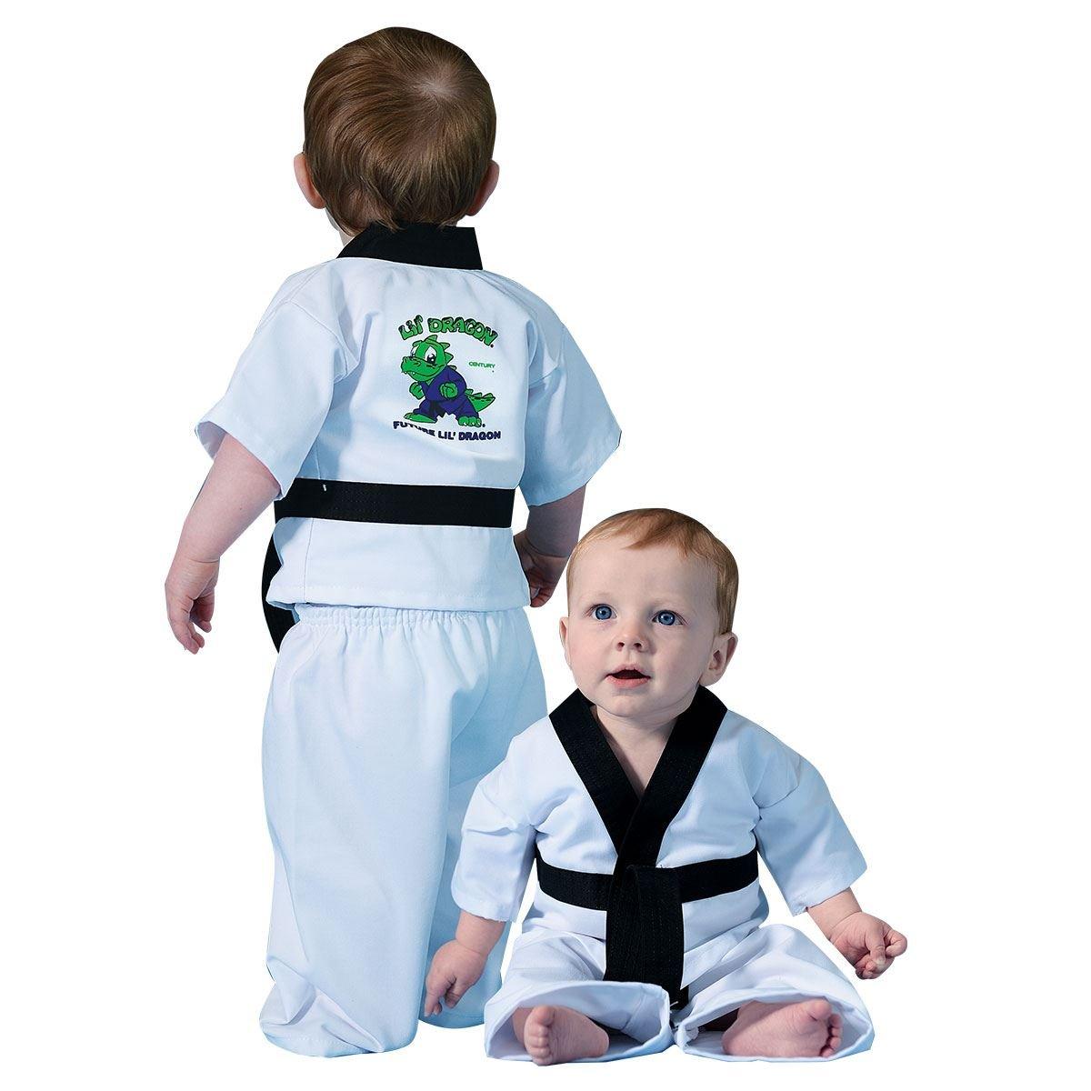 世紀Martial Arts Lil ' Dragon Infant Uniform B01053KYJ8  6-12m