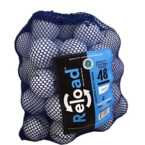 Reload Recycled Golf Balls 48 Ball Mesh Bag by Reload Recycled Golf Balls