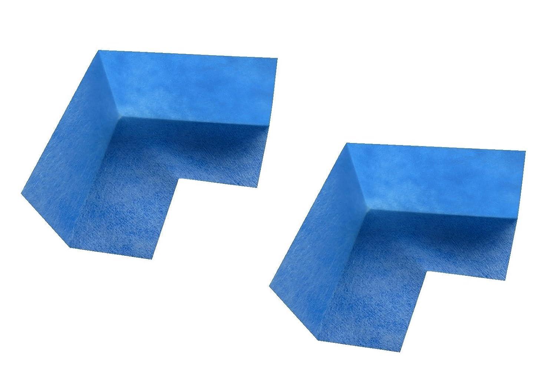 Kobau Shower Waterproofing Polyethylene Membrane Inside Corners - 2 Units Pack Global Trade & Distribution Inc